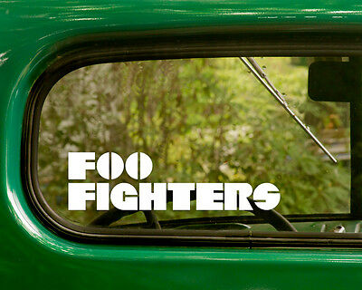 2 FOO FIGHTERS DECALs Band Sticker 3