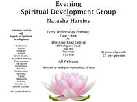 Spiritual Development Group, Wednesday evenings starting 12 October
