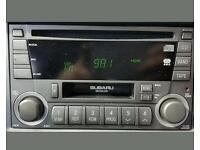 Subaru impreza cd player
