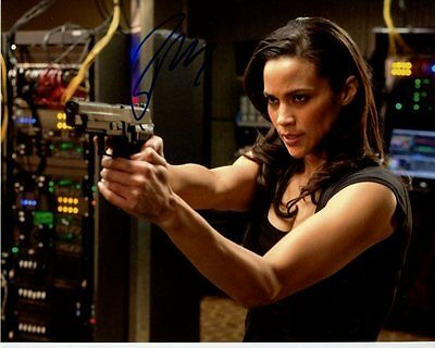 Paula Patton Autographed Mission Impossible Ghost Protocol Jane Carter Photo