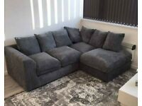 🌻BRAND NEW COUCHES DYLAN JUMBO CORD CORNER & 3+2 SEATER SOFA ORDER NOW🌻