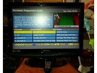 "22"" TV/DVD COMBINATION"