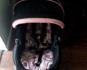 Stroller, car seat & base