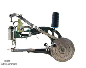 Leather Sewing Machine Shoe Patcher Singer 29K Adler Repair Cobbler Antique