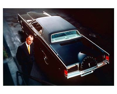 1968 Lincoln Continental Mark III Factory Photo ca0693
