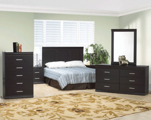 8 PCS BED ROOM SET (include box and mattress)$499