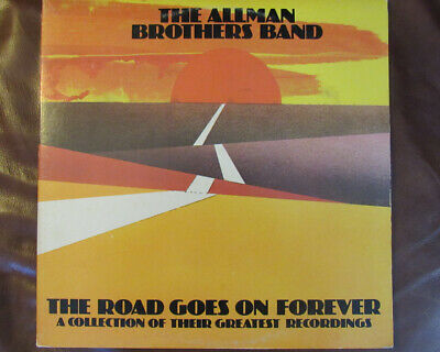 ALLMAN BROTHERS BAND - The Road Goes On Forever - Best Of Vintage Vinyl 2