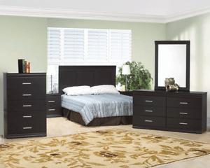 8 PCS BED ROOM SET (include box and mattress)$499