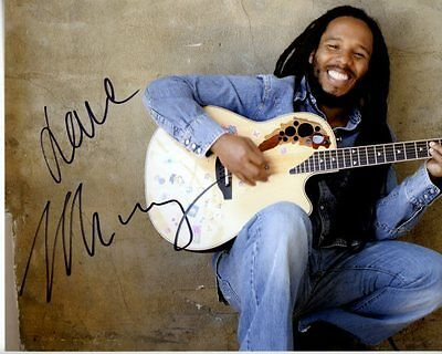ZIGGY MARLEY Signed Autographed Photo