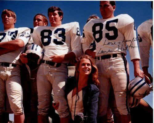 LAUREN HUTTON signed autographed PAPER LION KATE NFL DETRIOT LIONS photo