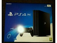 Brand New Unopened Sony PlayStation 4 Pro 1TB 4.3 out of 5 stars