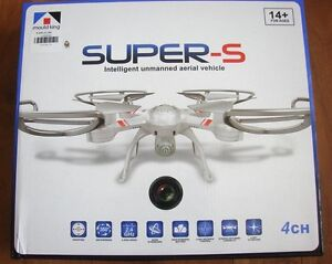 DRONE WHITE WITH VIDEO CAMERA AND SOUND VERY SMOOTH TO FLY