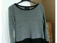 Ladies Next jumper with Glitter Effect size 12 Excellent condition