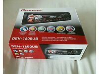 New & unopened PIONEER DEH-1600UB CAR STEREO
