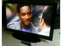 "SAMSUNG 42"" TV FULL HD BUILT IN FREEVIEW EXCELLENT CONDITION WITH REMOTE CONTROL HDMI FULLY WORKING"
