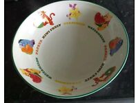 Disney fruit bowl
