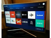 Samsung 49 inch Smart led tv UE49K5600 with built-in WIFI, screen mirroring