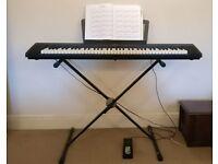 Yamaha NP-30 piano keyboard