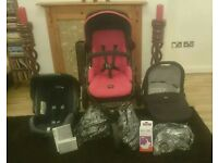 Britax B Smart 3 Travel System (Birth to 4 Years)