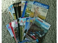 21 x Current Archaeology Magazines (2001 to 2004)