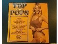 Too of the pops 45 vinyl.