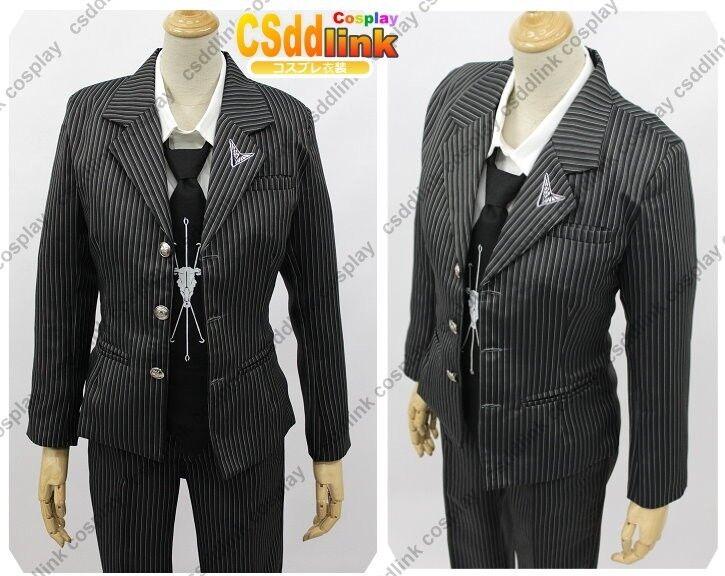 Super Dangan Ronpa 2 Kuzuryuu Fuyuhiko cosplay costume black