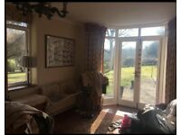 Bushey, c/tax/bills/broadband/wifi included, parking, large 1 dble bed, garden flat, stunning views