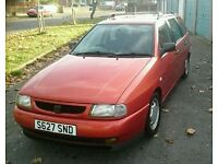 1998 SEAT Cordoba Vario SXE TDi 1.9 Estate (Same as VW Polo Estate) *Long MOT*
