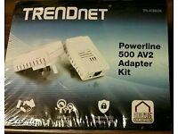 Trendnet internet power line adapter