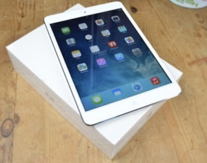 PREOWNED IPAD MINI 16GB WIFI 3 WHITE 3 MONTHS OF WARRANTY $99