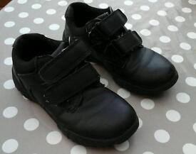 Childrens black shoes size 12