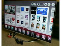 """LG 42"""" Ultra-Slim LED FULL HD CINEMA 3D SMART TV. Built in WiFi, Freeview HD, New Condition."""