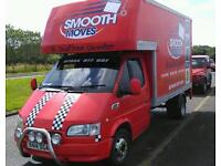 Removals Edinburgh man and van short notice 07944977997
