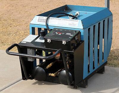 Msa Mine Safety Appliances Co. Quad-aire Four Person Pressure Demand Compressor