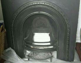 Cast iron victorian fire insert **Reduced**