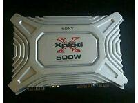 Sony xplod amp 500w