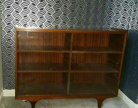 Bookcase display cabinet shelf
