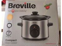 BRAND NEW Breville Compact Slow Cooker