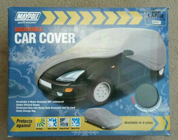 New! Maypole 9871 Breathable Car Cover - Large