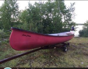 """""""Uncle Jimmy"""" Gander River Canoe"""