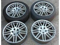 Mercedes VW Audi fitment 5 X 112 alloys wheels- 17 inch.