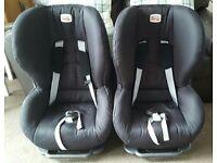 Britax child car seat x2