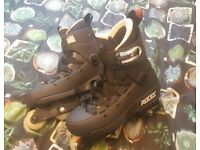 Five-K Aggressive Inline Skate Size: UK 7, Style: Black