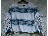 Top shop poncho jumper
