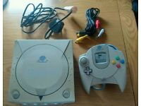 SEGA Dreamcast with Controller