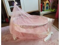 Baby Annabell Doll Rocking Cradle
