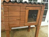 Hand made rabbit / guinea pig hutch