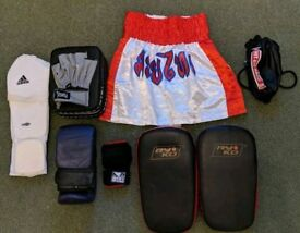Boxing Thai MMA Pads/ Gloves/ Shorts