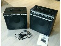 """Bass Amp Combo - Gallien Krueger MB150S + 1x12"""" cab"""