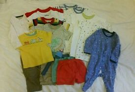 Baby boy 15 piece bundle 3-6m